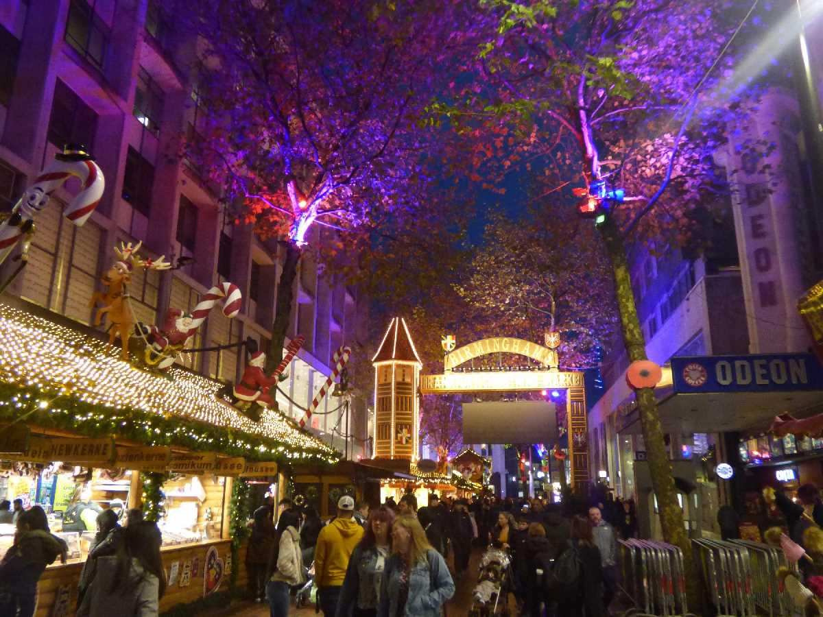 Birmingham Pre-Christmas Celebrations (including Frankfurt Market & Ice Rink)