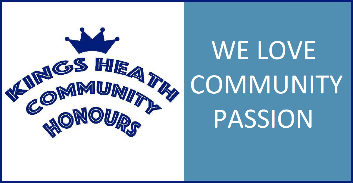 Kings Heath recognises people in the Community with Community honours